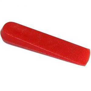 Cuña para alicatado cerámico 5mm revestimiento, bolsa 500 unidades, Rubi