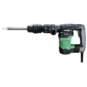 Hammer drill, Hikoki, Hitachi, 950 W, 12 positions, with construction case, green/black/chrome