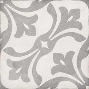 Art Nouveau La Rambla Gris 20x20, Ceramic, Floor, Paving, Decor, Porcelain