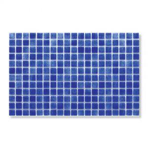 Gresite Bleu Marin, 2.5x2.5cm, Mosaïque de piscine.