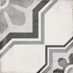 Art Nouveau Capitol Gris 20x20, Cerámica, Suelo, Pavimento, Decor, Porcelánico