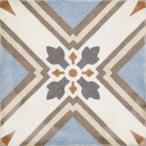Art Nouveau Turin Colores 20x20, Cerámica, Suelo, Pavimento, Decor, Porcelánico