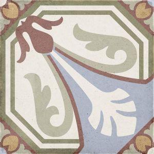 Art Nouveau Viena Colores 20x20, Céramique, Sol, Faïence, Carrelage, Décor, Couleur