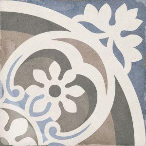 Art Nouveau Music Hall Colores 20x20, Céramique, Sol, Faïence, Carrelage, Décor, Couleur
