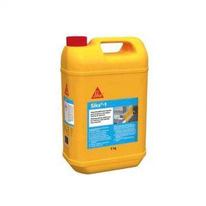 SIKA-1 Groc, impermeabilitzant líquid, garrafa 5Kg