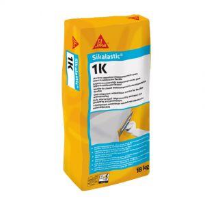 SikaLastic 1K Cement Mortar, Gray color (18Kg bag)