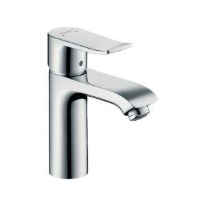 Aixeta lavabo,cau alt,HansGrohe,amb buidador,mesclador monocomandament,automàtic,crom