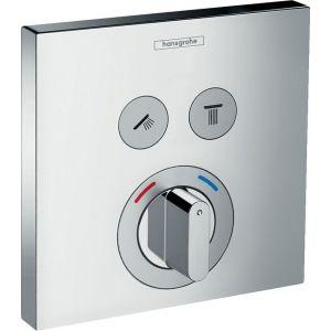 Termòstat dutxa,amb clau de pas i inversor,HansGrohe,BB,mesclador encastat,crom