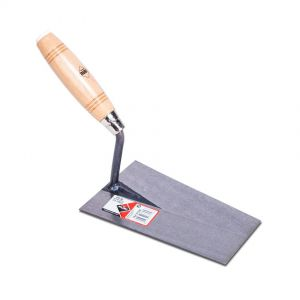 Trowel,wooden handle,  180x115mm, PFM23180a, Rubi.