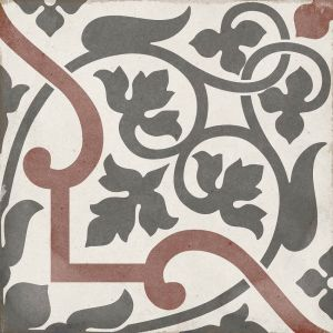 Art Nouveau Folies Bergères 20x20, Cerámica, Suelo, Pavimento, Decor, Porcelánico