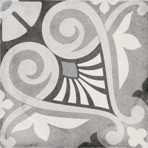 Art Nouveau Opera Gris 20x20, Cerámica, Suelo, Pavimento, Decor, Porcelánico