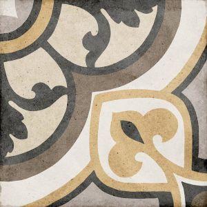 Art Nouveau Majestic Colors 20x20, Ceramic, Floor, Paving, Decor, Porcelain