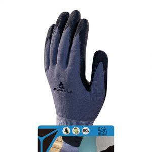 Gants de Protection - Sécurité au Travail, taille 8, gris / noir